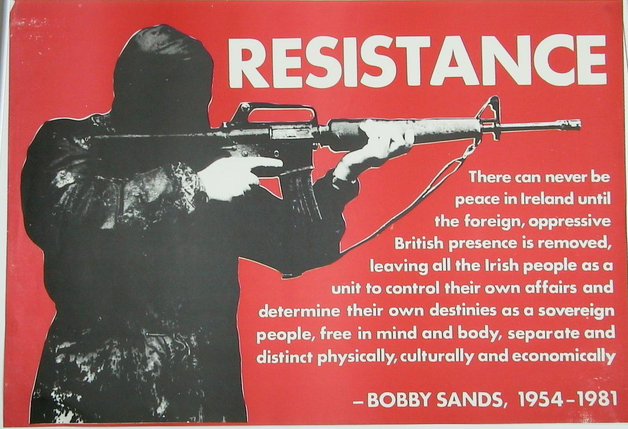 terrorism and irish republican army The nexus among terrorists, narcotics traffickers, weapons proliferators conclusions have been guided by the work of terrorism and criminology experts such as tamara makarenko organization (eta) and the irish republican army (ira.