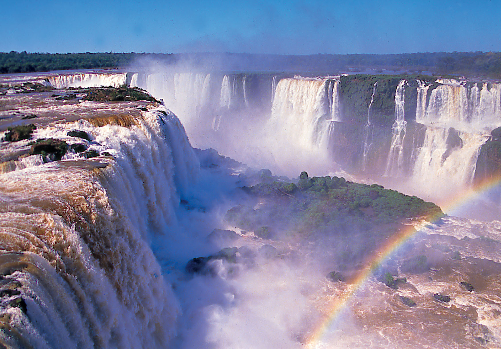 iguazu falls wallpaper