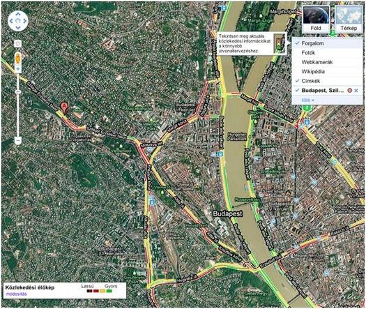 térkép magyarország google Közlekedés: Mától Magyarországon is könnyen kikerülheted a dugókat  térkép magyarország google