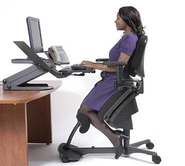 Hátfájás: egészséges irodai szék (kép)