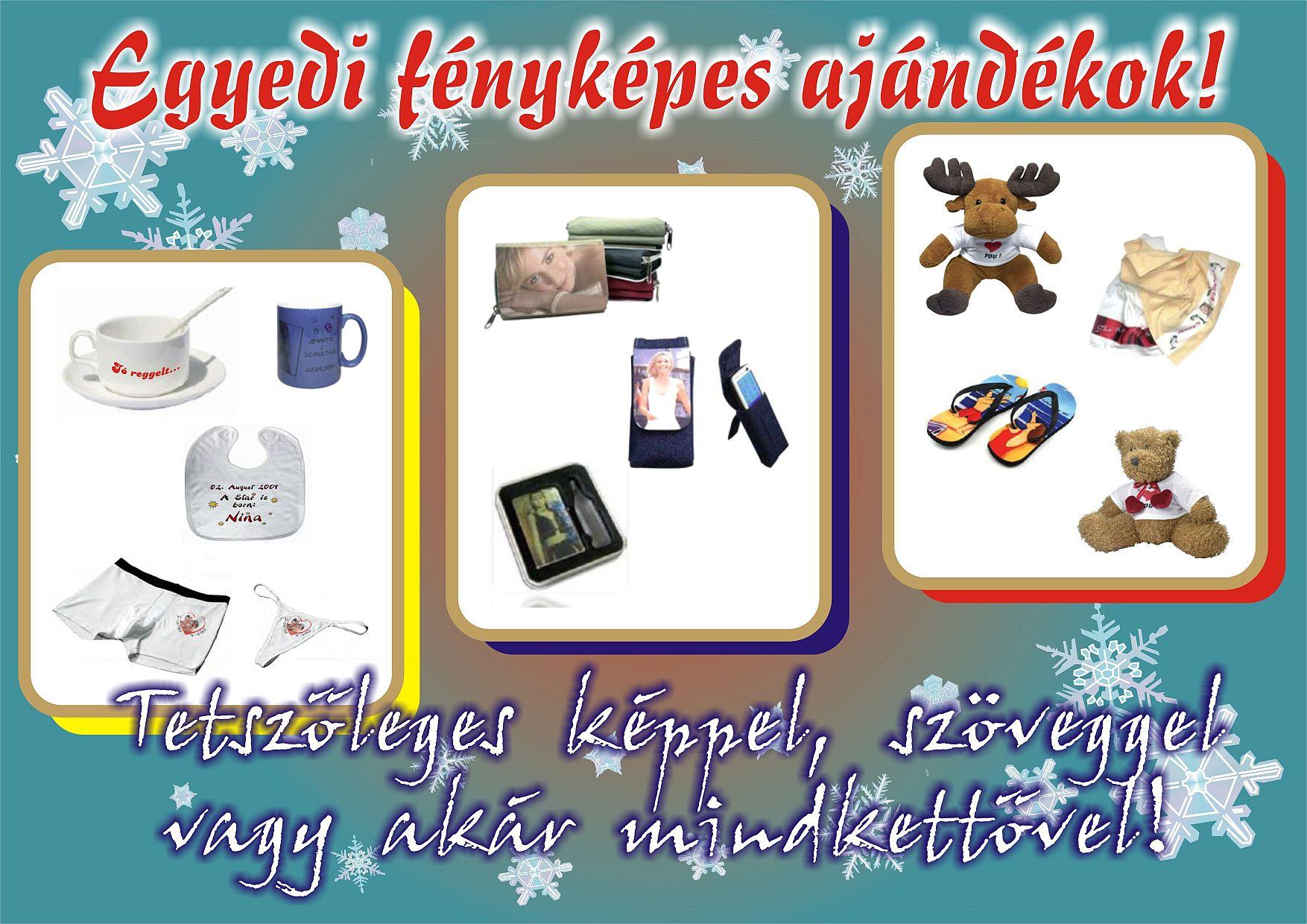 21454bb601 Grafika nyomda dekoráció: BŐVÜLŐ KÍNÁLAT - Egyedi fényképes ajándékok