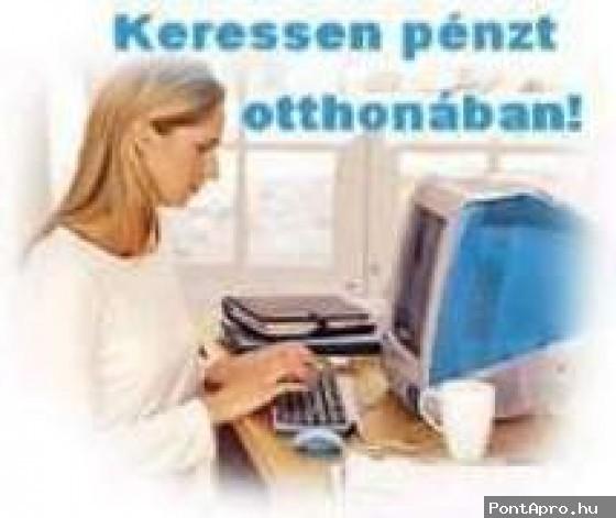 internetes kereset otthon