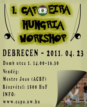 Capoeira Hungria Debrecen (2011 04 23) workshop