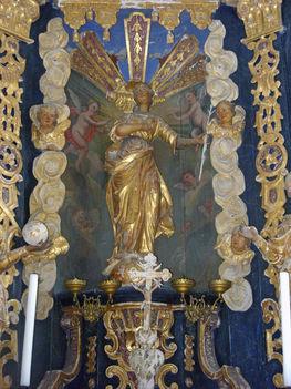 Lengyel-kápolna főoltár részlet