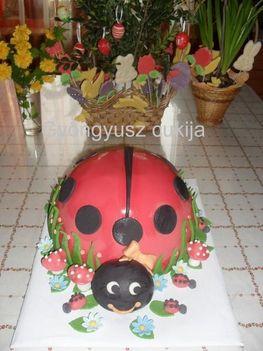 Katicás torta