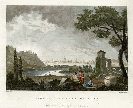 Rome view, 1793
