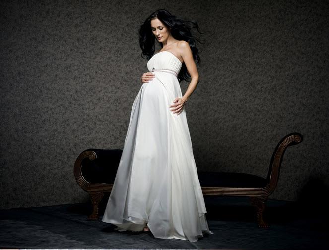 3ccd0120c0 Terhesség: Daalarna kismama menyasszonyi ruha (kép)