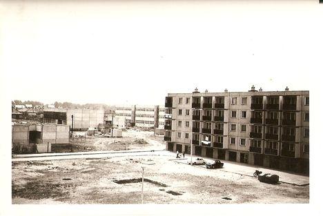 Épül a József Attila lakótelep 1977 (1)