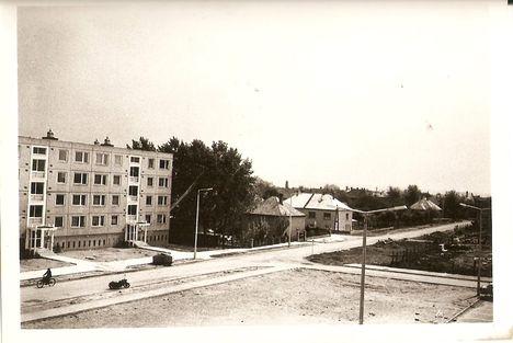 Épül a József Attila lakótelep 1977 (2)