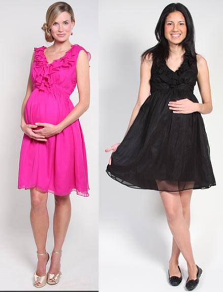4fcf3110b8 Terhesség: Kismama alkalmi ruha (kép)