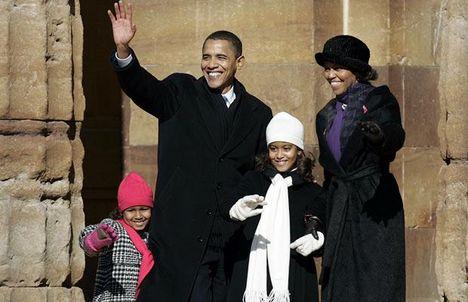 Lányai, Malia Ann és Natasha 1998-ban és 2001-ben születtek