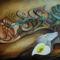 Napló (80 x 110) akril - vászon