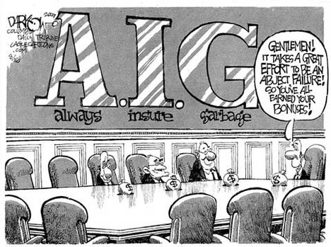 AIG szlógen - minden szemetet biztosítunk!