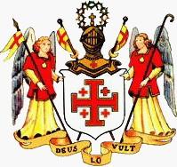 A Szent Sír Lovagrend címere