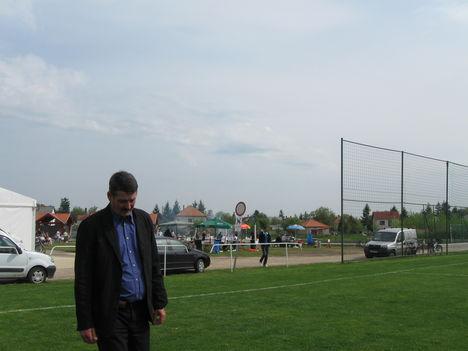 Aller Imre polgármester az Erős emberek vetélkedőjére siet