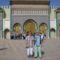 Marocco Fes Királyi Palota kapuja