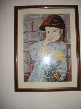 Fiú rózsával