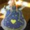 Vajkrémes málna torta
