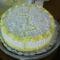 Citrom krémes torta