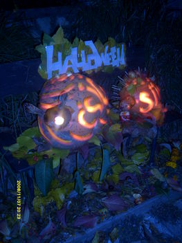 Halloweeni alkotásaim