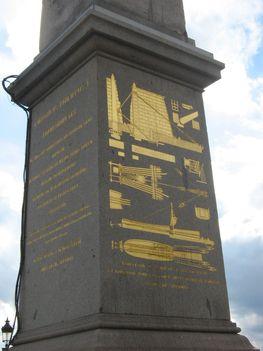II.Ramszesz obeliszkje Luxorból 2