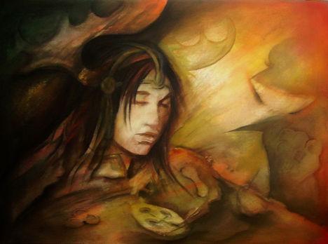 Rasdi (80 x 110) akril - vászon