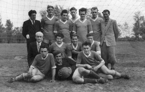 Régi foci1, kb.1960