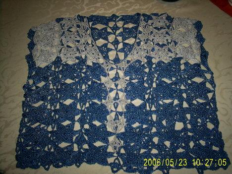 2010-2011 horgolás szürke-kék
