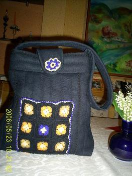 2010-2011 horgolás táska
