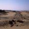 Dimeh - kövezett út a tó egykori partjáig