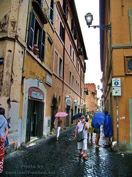 Róma Via della Lungaretta