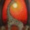 Afrikai tér 60 cm x 30 cm olaj, vászon