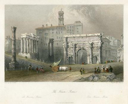 Rome, the Forum, 1841