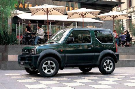 Suzuki Jimny terepjáró