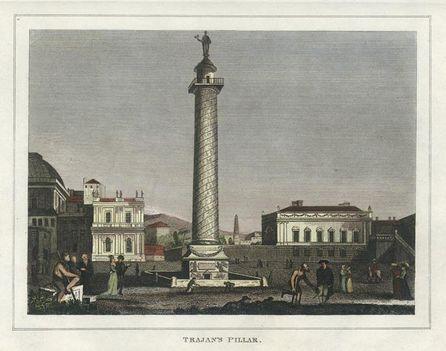 Trajan's Pillar at Rome, 1828