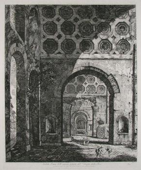 Veduta d'una delle navate minori, del Tempio della Pace