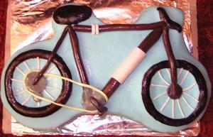 bicikli torta