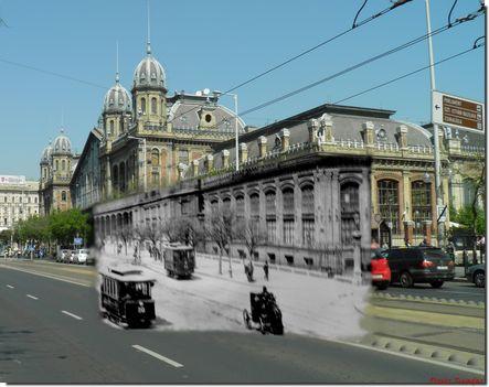 Budapest régen és most.. 2011 be 10