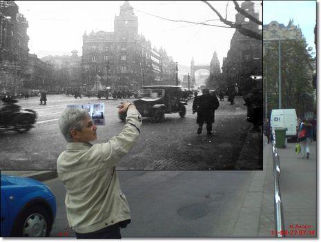 Budapest régen és most.. 2011 be 8