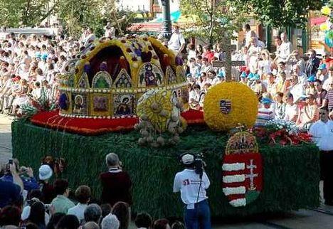 Debreceni virág karnevál.