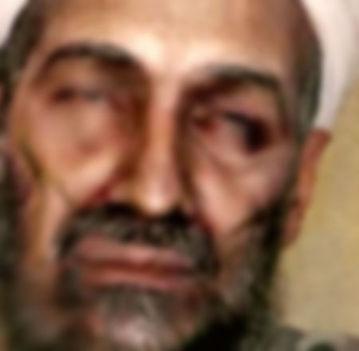 Elmaszatolt Osamának beadott arc