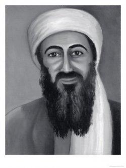Photoshopos-rajzolt Osama