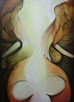 Andrias (110 x 80) akril - vászon