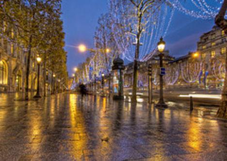 Karácsony a Champs Élysées-n