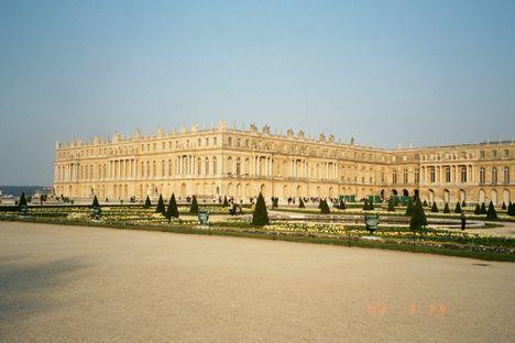 Versailles, a kastély