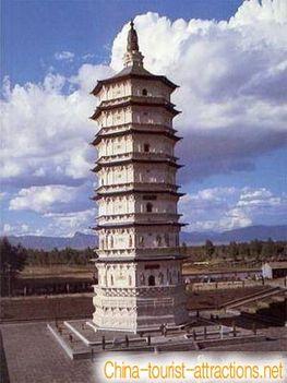 Avatamsaka Sutra 1000 körül épült tornya