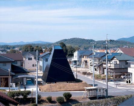 Japán piramisház
