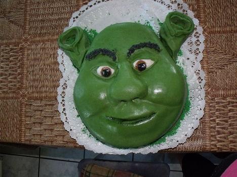 Shrek torta