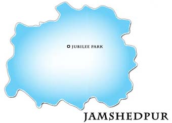 Jamshedpur Map