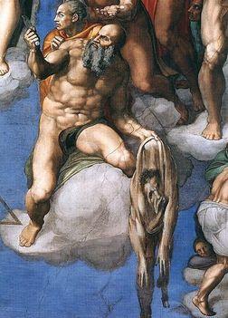 Michelangelo önarcképe